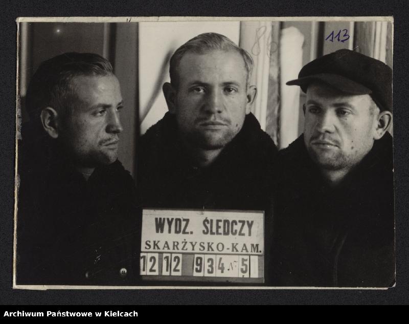 """Obraz z jednostki """"Album przestępców powiatu opoczyńskiego"""""""
