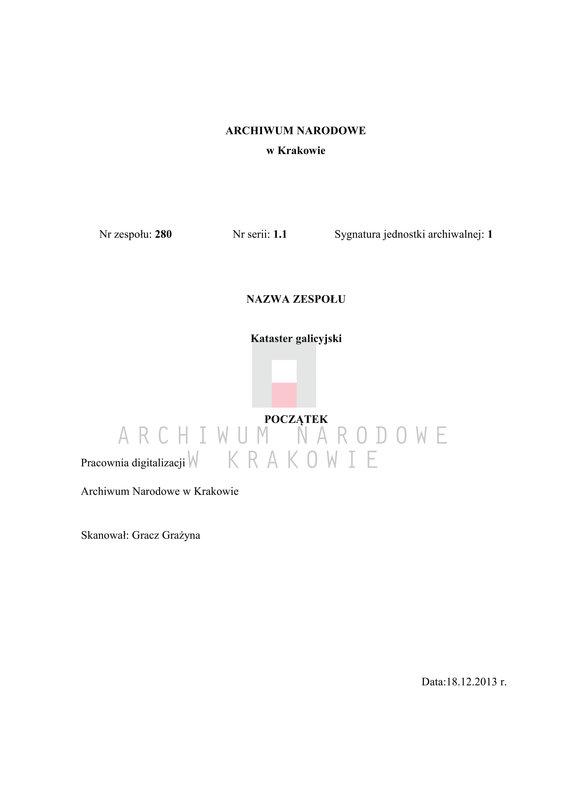 """Obraz 1 z jednostki """"Bogucice in Galizien Bochnier Kreis Bezirk Niepołomice"""""""