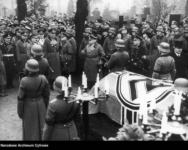 "image.from.unit.number ""Pogrzeb generała Hansa von Seeckta """