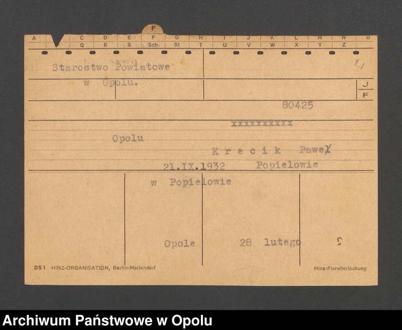 """Obraz 4 z jednostki """"[Niesporek Vinzent, ur. 4.6.1873, zam. Radau]"""""""