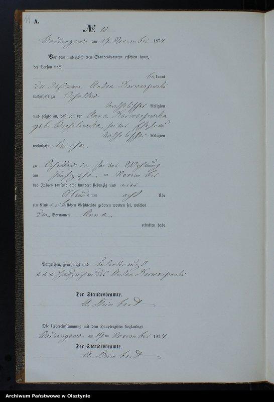 """image.from.team """"Urząd Stanu Cywilnego w Ostrowitem pow. nowomiejski"""""""