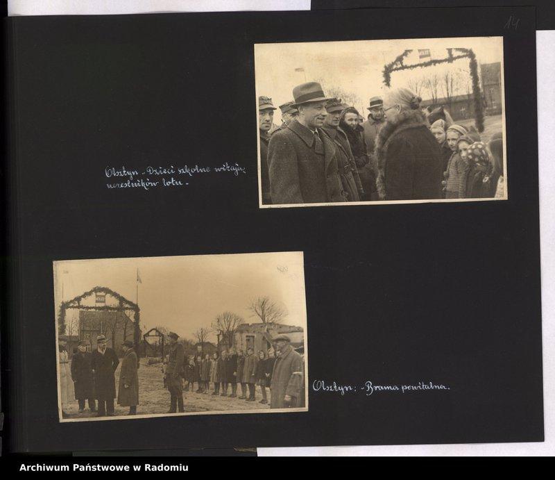 """Obraz 15 z jednostki """"[Album fotograficzny dokumentujący reaktywowanie krajowych połączeń lotniczych przez Polskie Linie Lotnicze """"Lot""""]"""""""