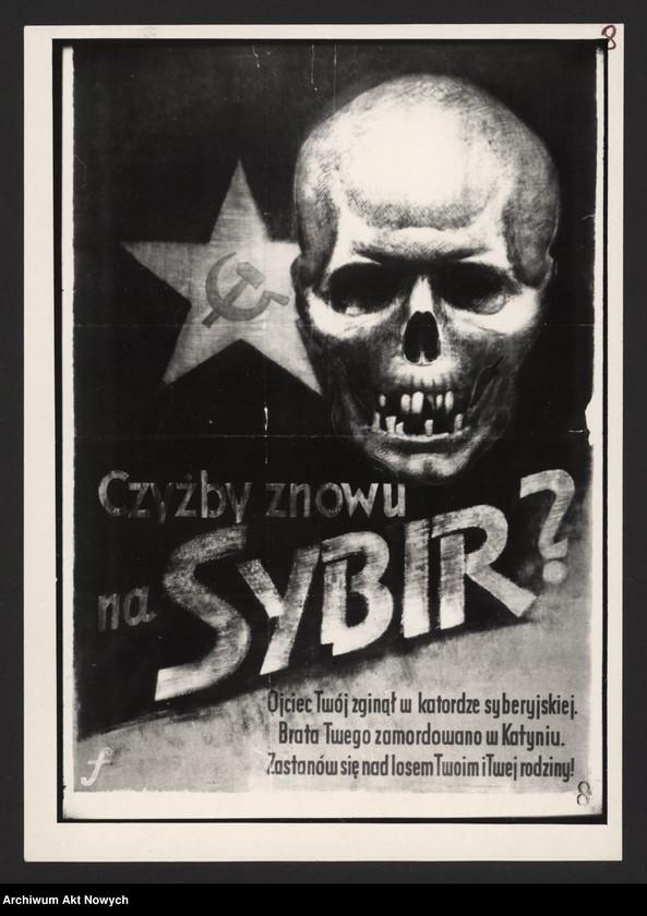 """Obraz 12 z kolekcji """"Propaganda niemiecka z okresu II wojny światowej."""""""