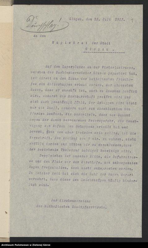 """Obraz 6 z jednostki """"St. Barbara - Friedhof [Cmentarz św. Barbary w Głogowie]"""""""
