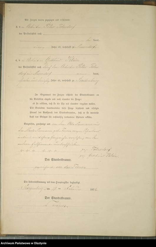 """Obraz z jednostki """"Heiraths-Neben-Register Nr 1 - 9"""""""