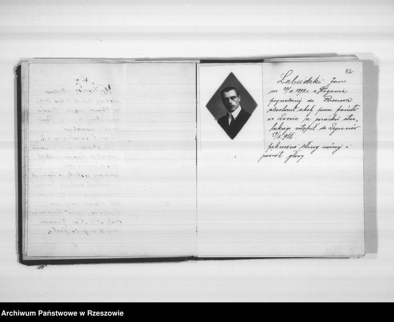 """Obraz 12 z jednostki """"Delegatura Departamentu Wojskowego N.K.W. Rzeszów (album superarbitrowanych Legionistów)."""""""