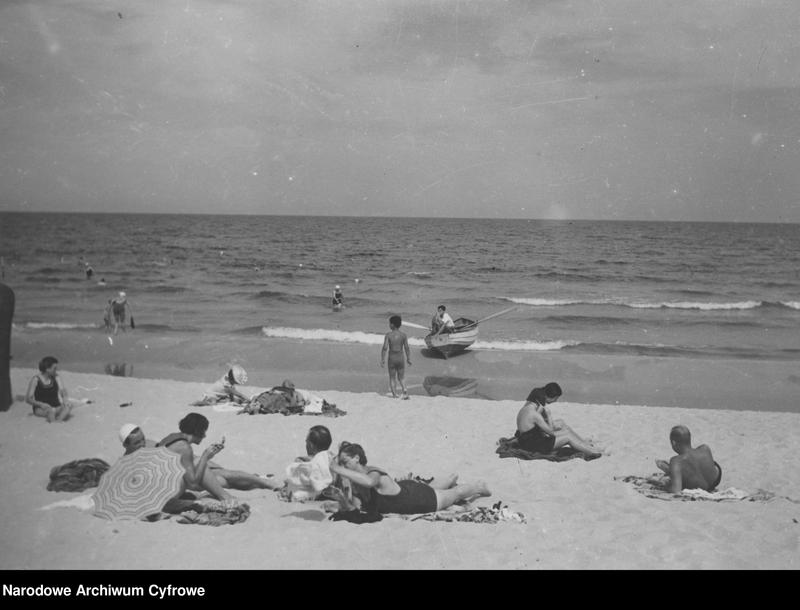 """Obraz 10 z jednostki """"Plaża w Gdyni"""""""