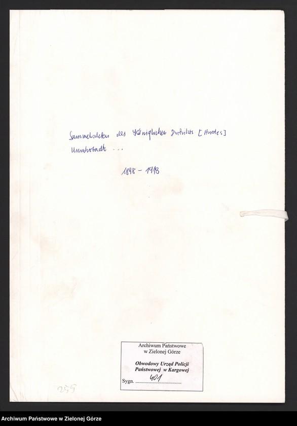 """image.from.unit.number """"[Informacje o śmierci karanych osób, postępowania karne, wnioski o nałożenie kar porządkowych]"""""""