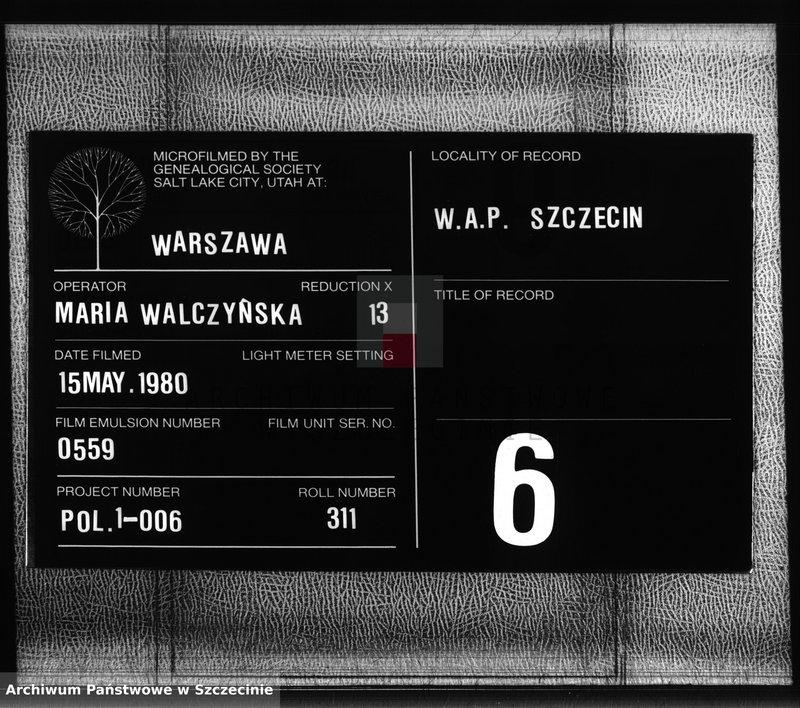 """Obraz z zespołu """"Urząd Stanu Cywilnego w Borkowie Wielkim"""""""