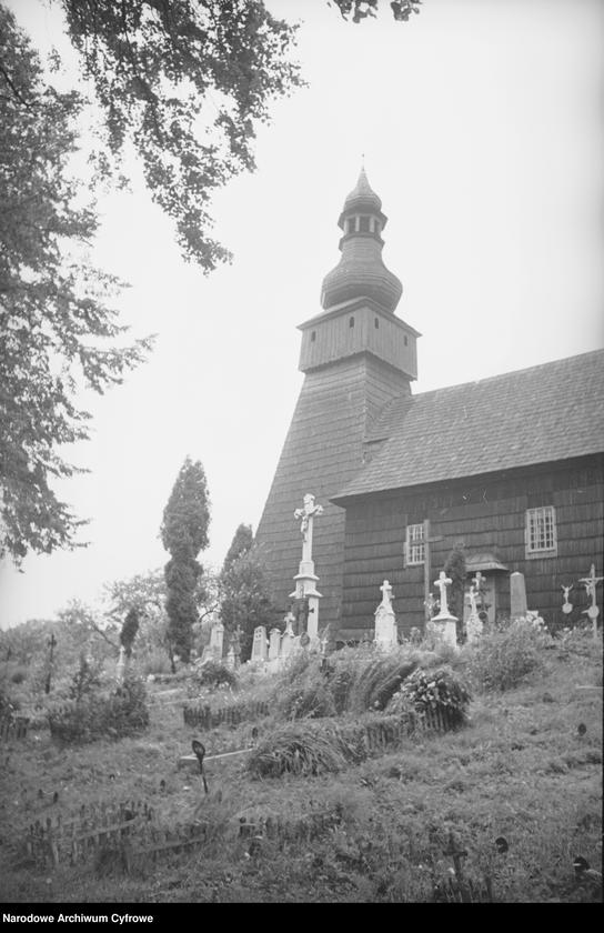 Obiekt Drewniany kościół. z jednostki Lwów