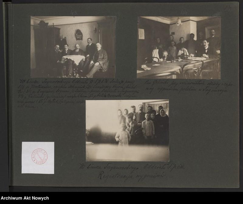 """Obraz 9 z kolekcji """"Album """"Szlakami wygnańców"""" 1915-1916"""""""