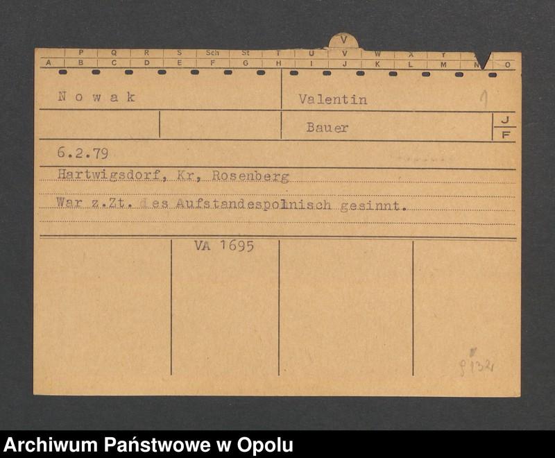 """Obraz 3 z jednostki """"[Nowak Valentin, ur. 6.2.1879, zam. Hartwigsdorf]"""""""