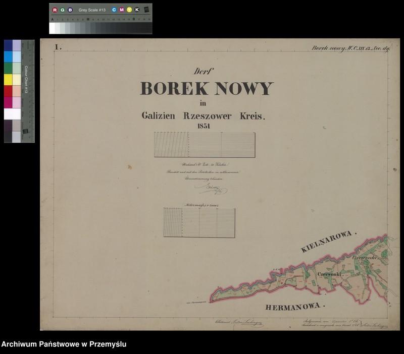 """Obraz 4 z jednostki """"Dorf Borek Nowy in Galizien Rzeszower Kreis"""""""