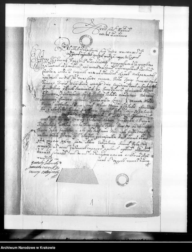 """Obraz z jednostki """"Akta majątkowe i gospodarcze dóbr Murowana Oszmiana"""""""