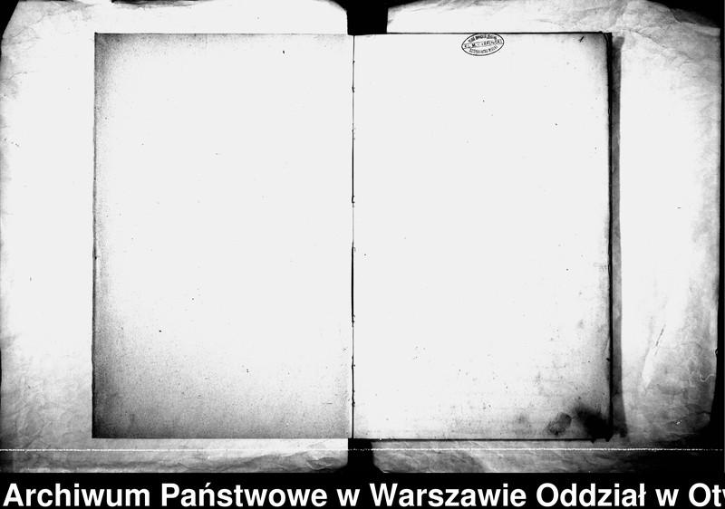 """Obraz z jednostki """"Akta urodzeń, małżeństw i zgonów parafii Karczew za rok 1897"""""""