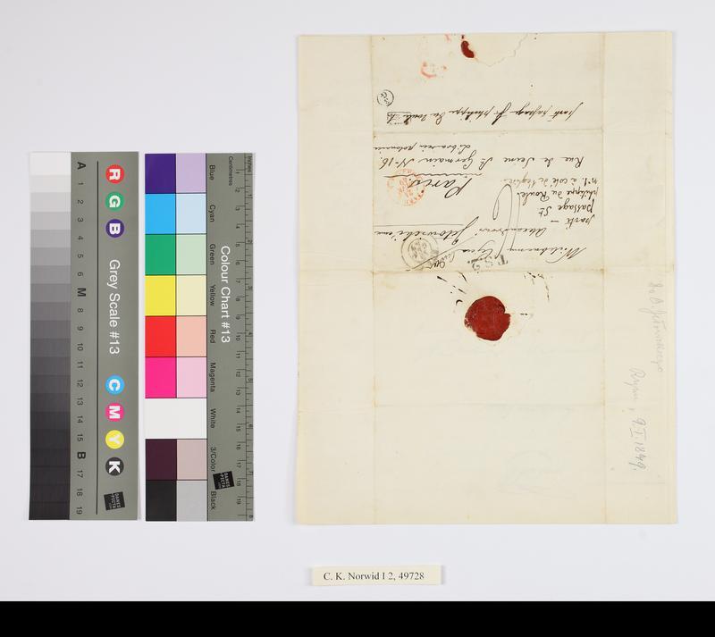 """Obraz z jednostki """"list do Ojca A. Jełowickiego"""""""