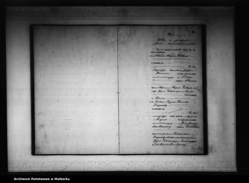 """Obraz z jednostki """"Księga małżeństw 1877 rok"""""""