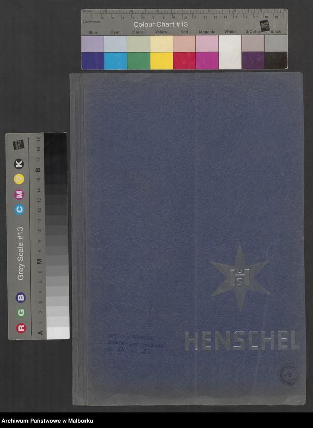 """Obraz 2 z jednostki """"Lokomotivbedarf [Przetarg na zakup lokomotywy elektrycznej Typ D El 110 Dokumentacja firmy Henschel und Sohn AG w Kassel]"""""""