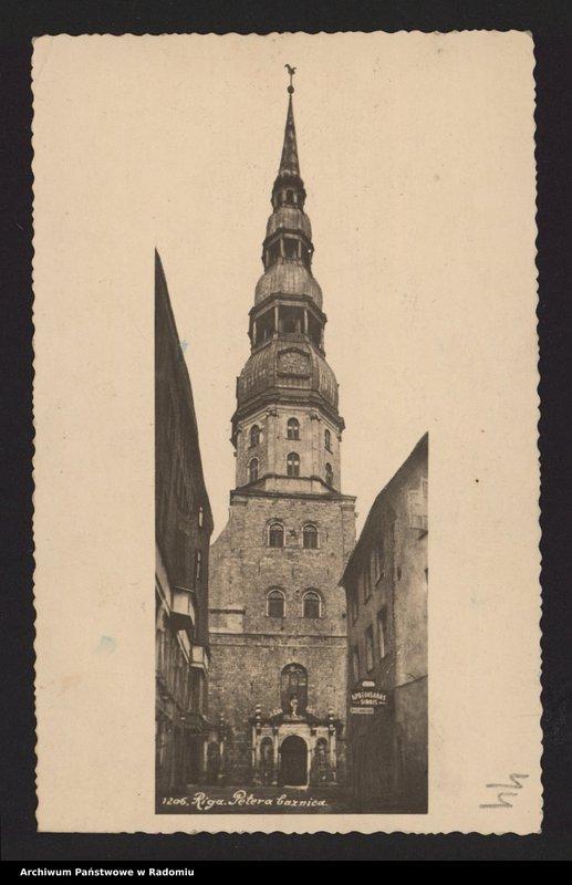 """Obraz 16 z kolekcji """"Archiwalny przegląd pocztowy"""""""