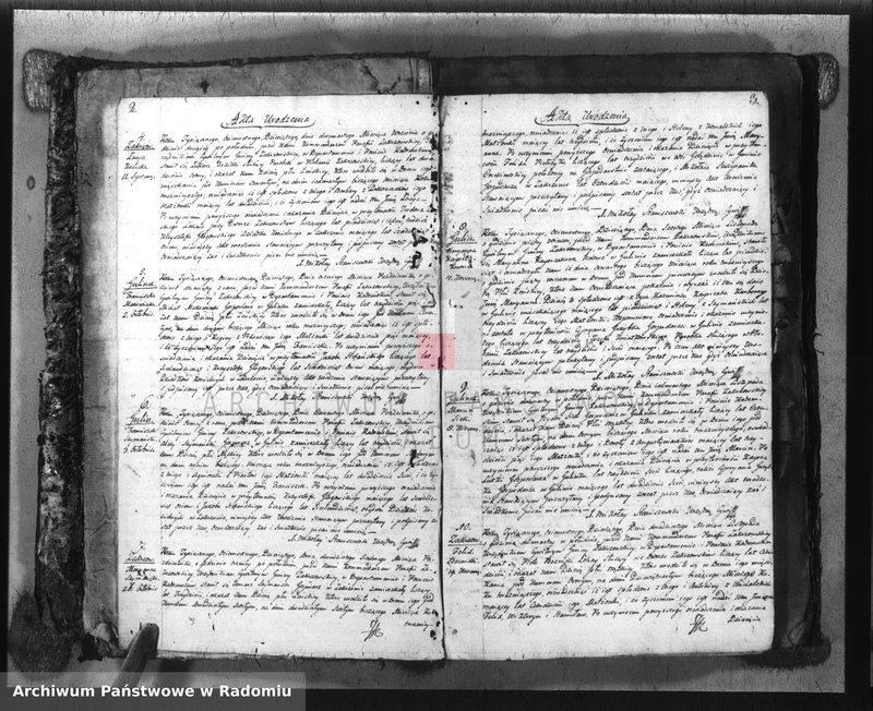 """Obraz z jednostki """"Duplikat parafii Zakrzów z r. 1810-1821"""""""