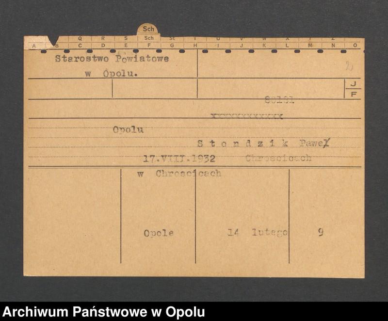 """Obraz 4 z jednostki """"[Nowak Johann, ur. 25.10.1900, zam. Neu-Karmen]"""""""
