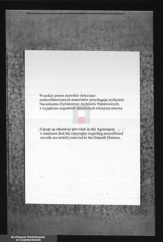 """image.from.unit.number """"[Akta chrztów Parafii Rzymskokatolickiej w Mstowie]"""""""
