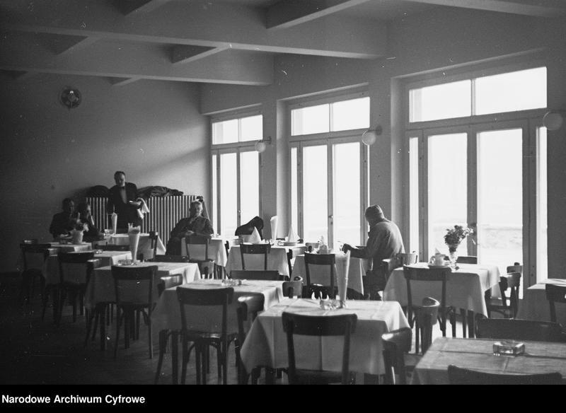 Obiekt Wnętrze restauracji w Domu Zdrojowym. z jednostki Wisła