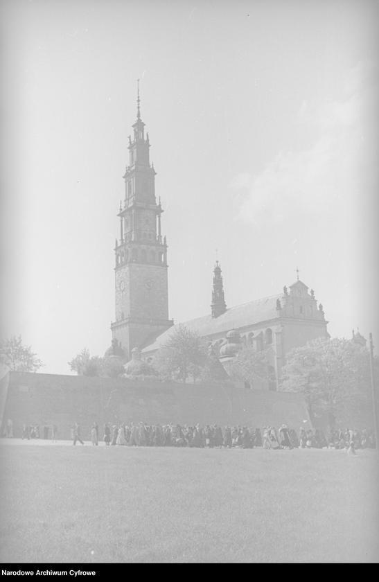 Obiekt Klasztor Jasna Góra - widok zewnętrzny. z jednostki Częstochowa