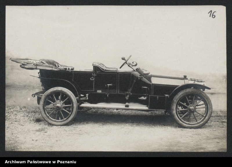 """Obraz 4 z kolekcji """"Automobile - prospekty reklamowe z początku XX wieku"""""""