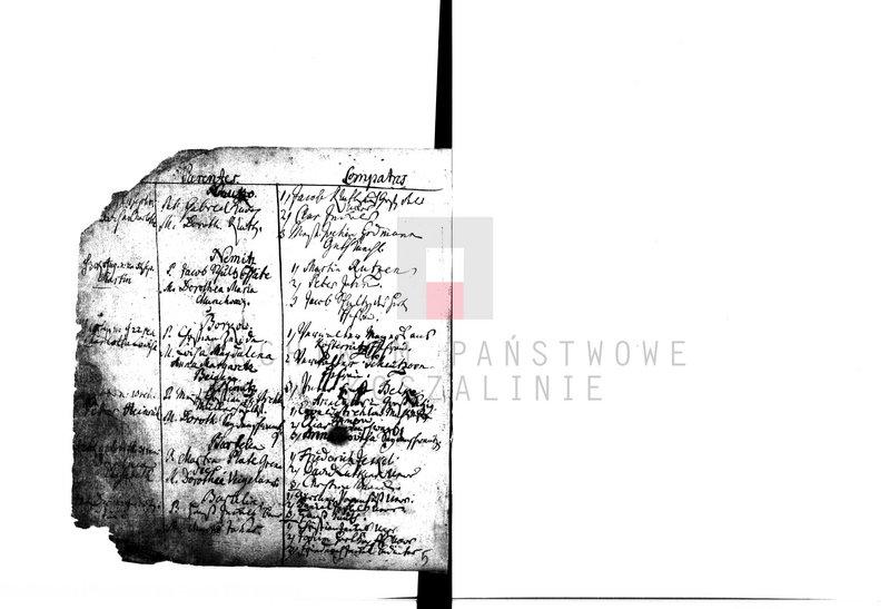 """Obraz 4 z kolekcji """"Najstarsze księgi metrykalne w zasobie AP w Koszalinie"""""""