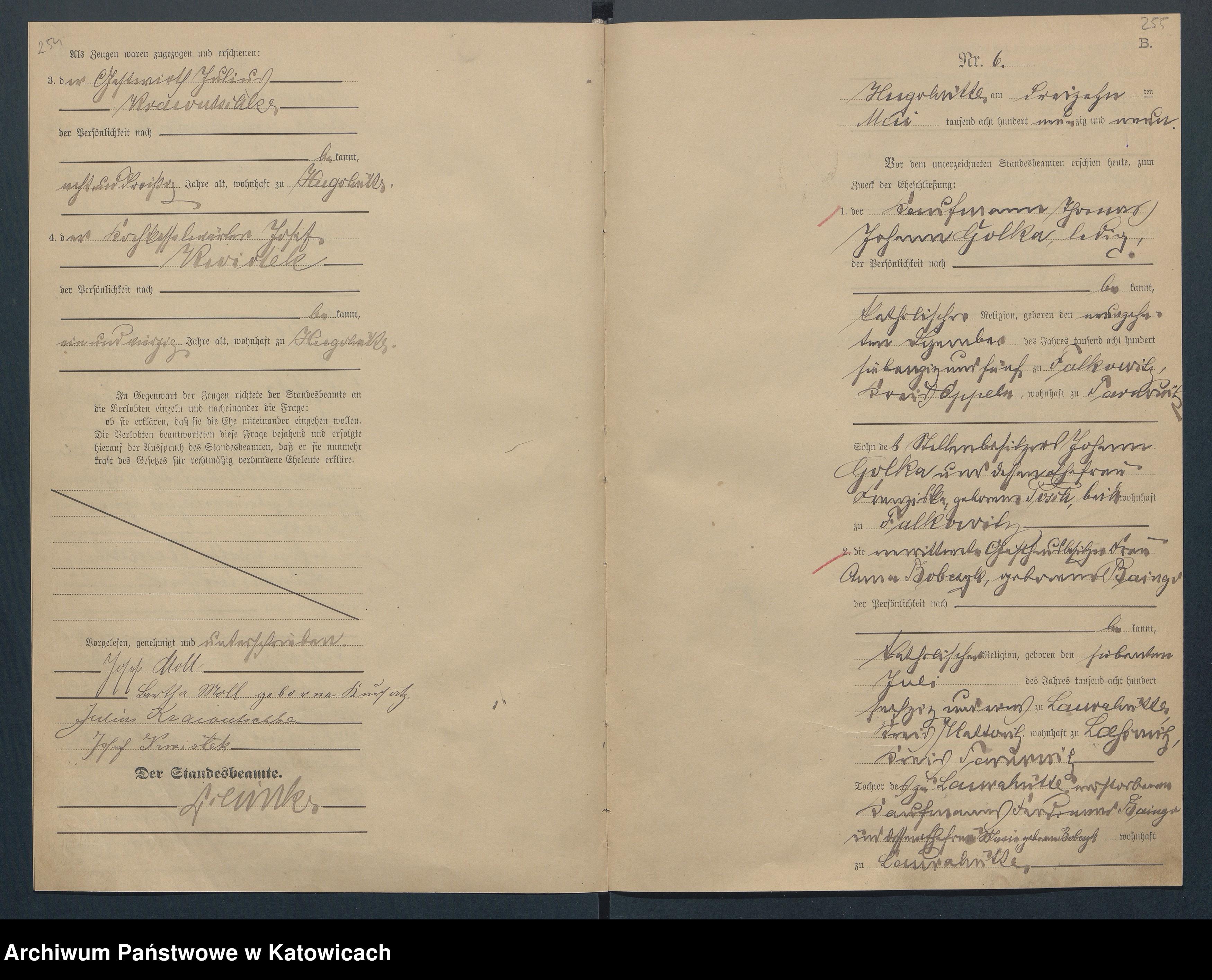 Skan z jednostki: Księga Małżeństw nr 1-29 (1895), nr 1-36 (1896), nr 1-27 (1887), nr 1-30 (1898), nr 1-35 (1899)