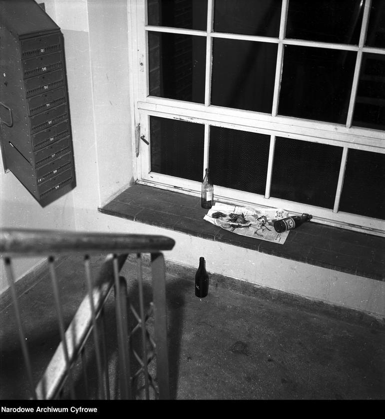 """Obraz z jednostki """"Klatka schodowa w jednym z bloków na Mokotowie"""""""