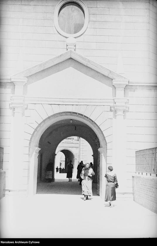 Obiekt Wejście na teren klasztoru. z jednostki Częstochowa