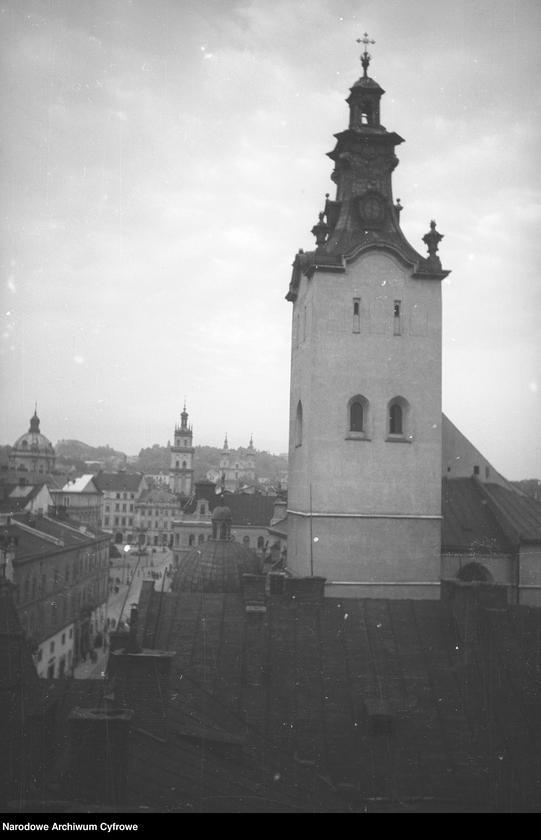 Obiekt Wieża kościoła Wniebowzięcia Najświętszej Marii Panny. z jednostki Lwów