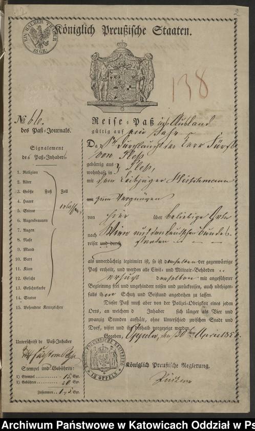 """Obraz 19 z kolekcji """"Paszporty"""""""