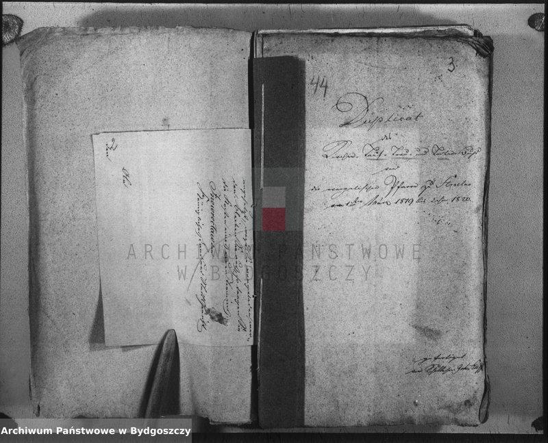 """Obraz z jednostki """"Duplicate der Kirchenbücher in Strzelno"""""""