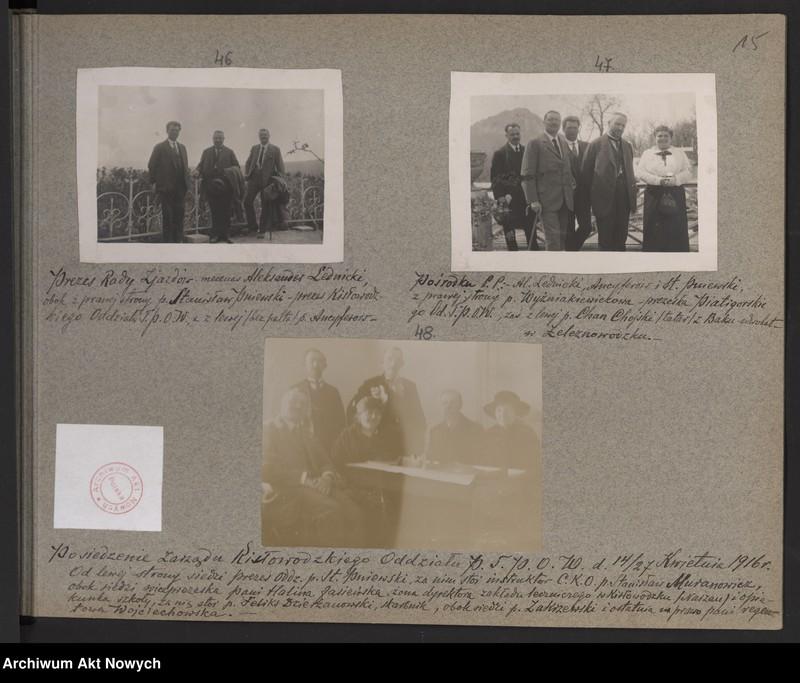 """Obraz 10 z kolekcji """"Album """"Szlakami wygnańców"""" 1915-1916"""""""