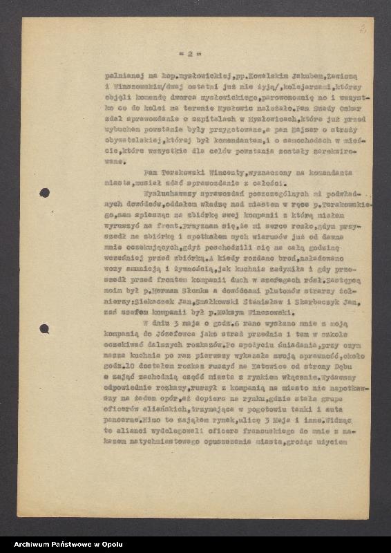"""Obraz 4 z jednostki """"[Mańka Ryszard """"Dowódca Baonu 16 p. Rysia""""]"""""""