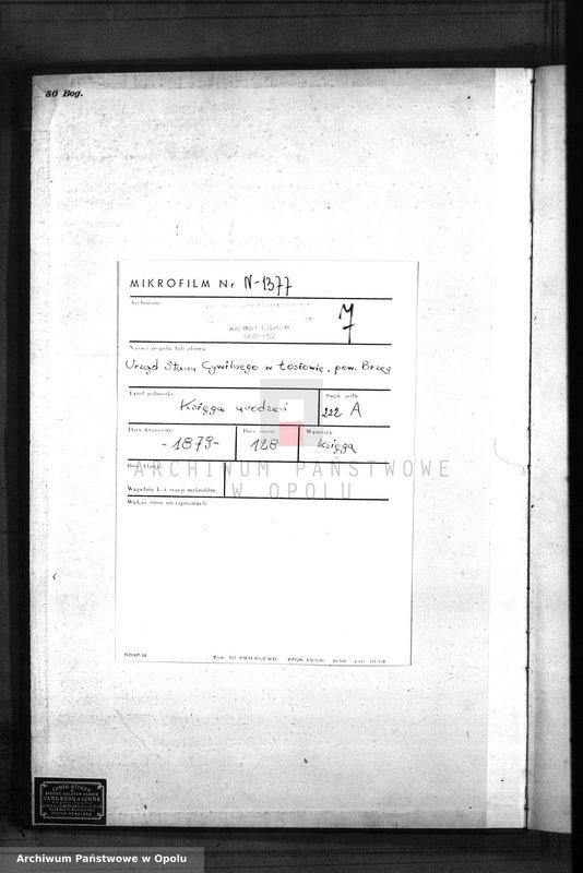 "Obraz 3 z jednostki ""Geburts-Neben-Register Standes-Amt Lossen 1879"""