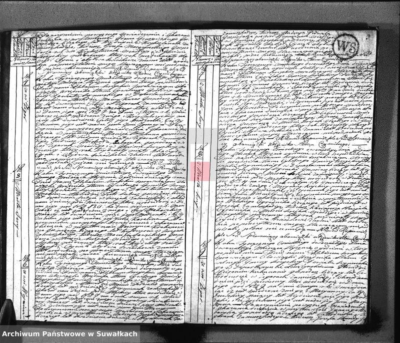 """Obraz z jednostki """"Akta urodzonych gminy sereyskiey od 1-go stycznia 1812 aż do ostatniego grudnia"""""""