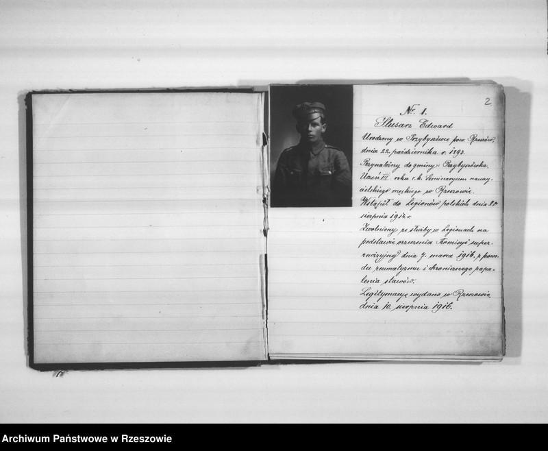 """Obraz 5 z jednostki """"Delegatura Departamentu Wojskowego N.K.W. Rzeszów (album superarbitrowanych Legionistów)."""""""
