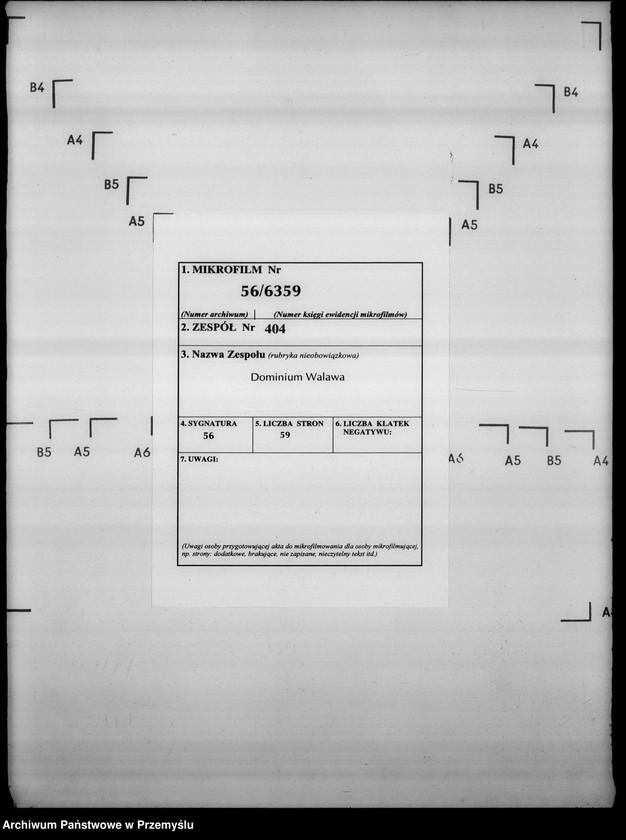 """Obraz 2 z jednostki """"Sumariusze miejscowe [spisy ludności i spisy koni dla celów wojskowych]"""""""