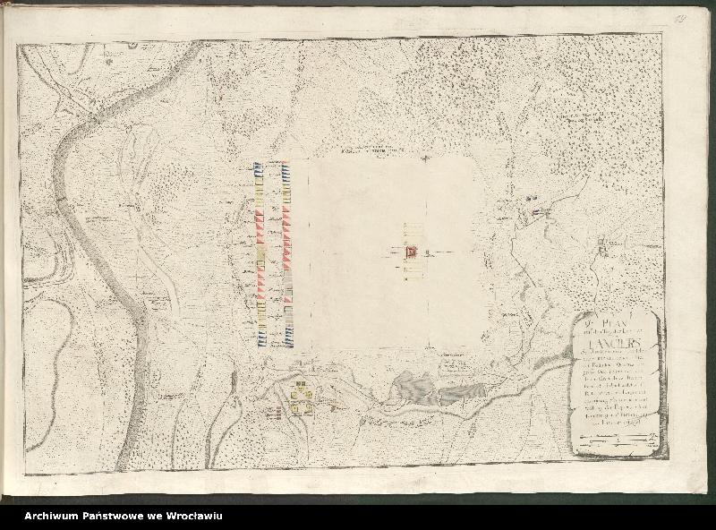 """Obraz 16 z kolekcji """"Obóz wojsk polskich i saksońskich pod Radewitz, 1730"""""""