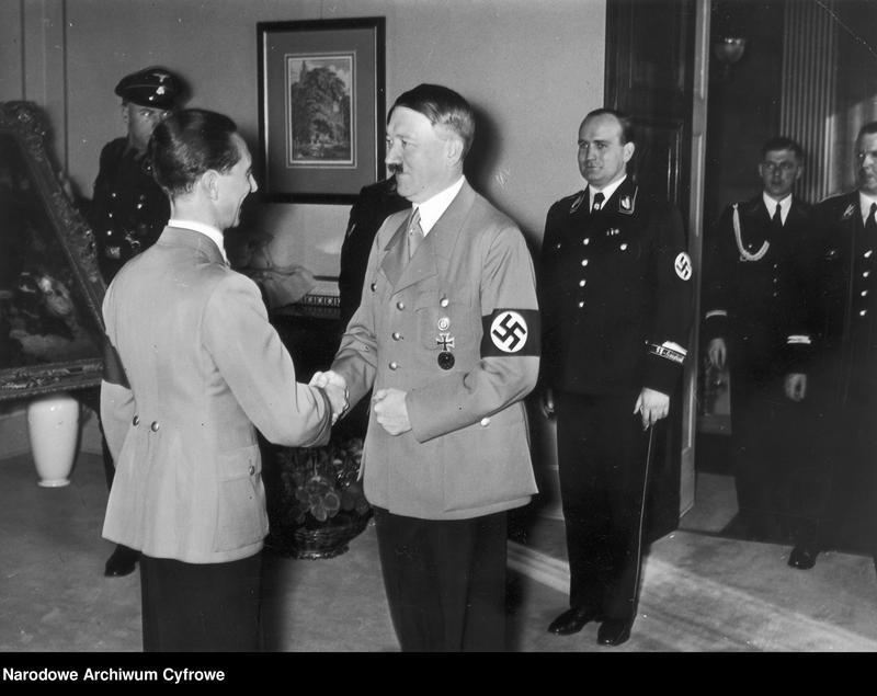 """Obraz 1 z jednostki """"Jubileusz czterdziestych urodzin ministra propagandy III Rzeszy Josepha Goebbelsa"""""""