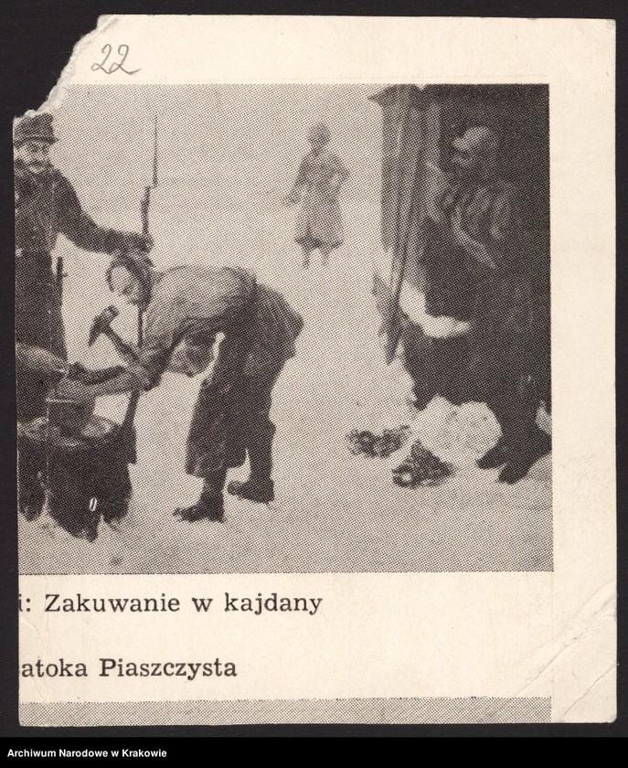 """Obraz 11 z jednostki """"Zdjęcia powstańców z r. 1863/64 [21 sztuk (w tym dublety) + 1 wycinek z gazety]"""""""