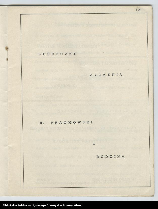 """Obraz 9 z kolekcji """"Nasz Balet 1949-1974 z Biblioteki Polskiej im. Domeyki w Buenos Aires"""""""