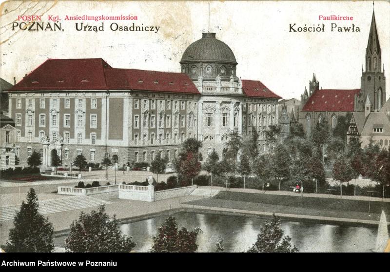 """Obraz 16 z kolekcji """"Poznań na pocztówkach"""""""