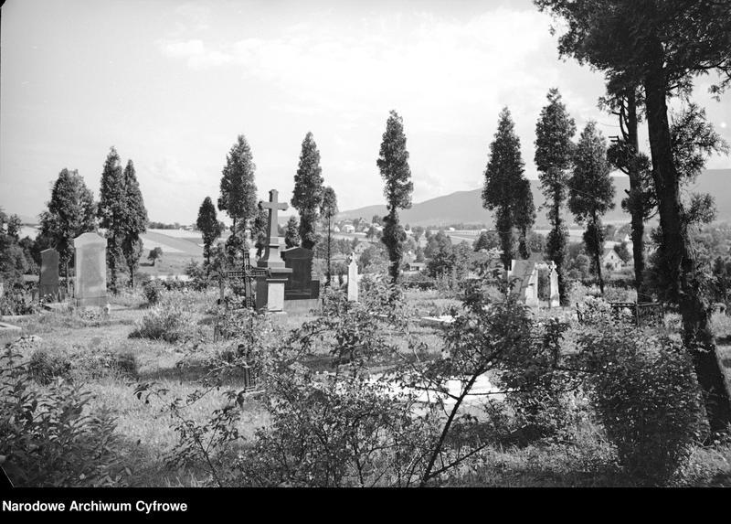 Obiekt Fragment cmentarza. z jednostki Krajobraz śląski
