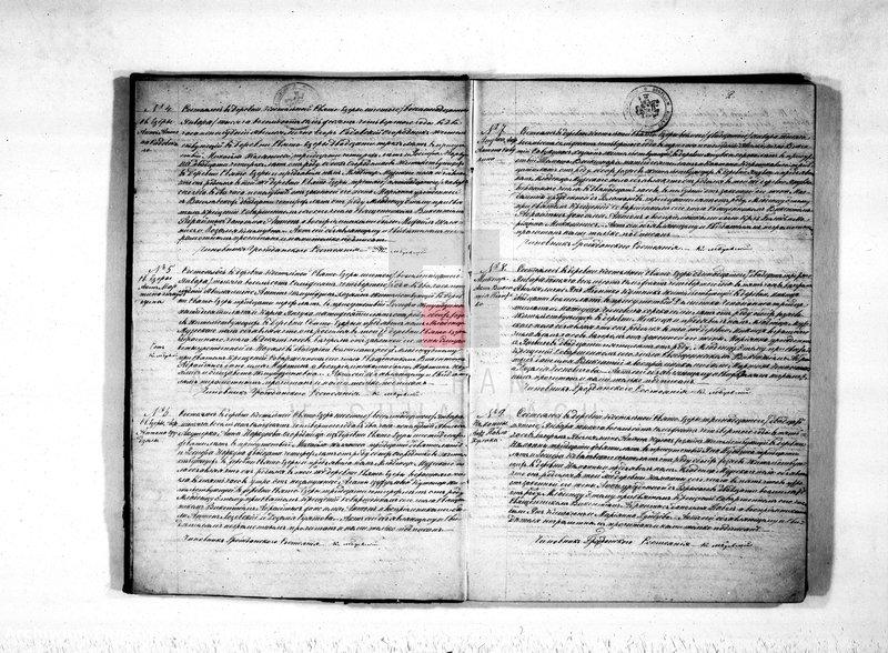 "image.from.unit ""Kniga duplikat o rodivšichsja, brakosočetavšichsja i smerti Sveto-Jezerskago prichoda s 1874 goda"""