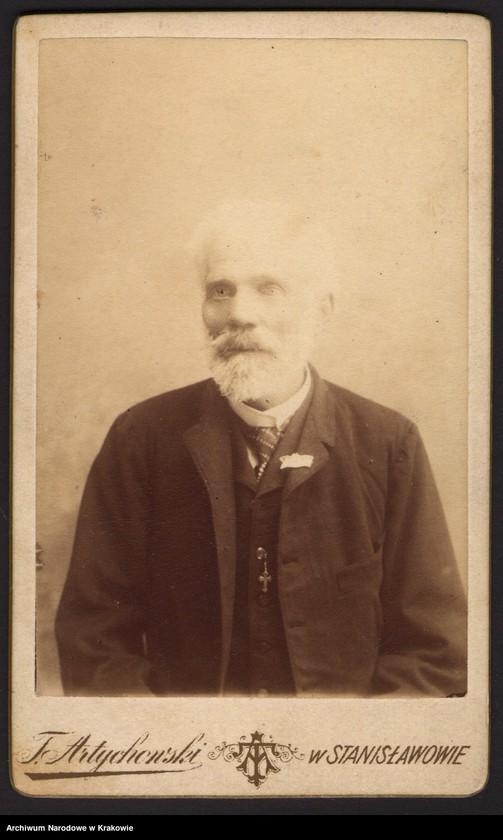 """Obraz 13 z jednostki """"Zdjęcia powstańców z r. 1863/64 [21 sztuk (w tym dublety) + 1 wycinek z gazety]"""""""